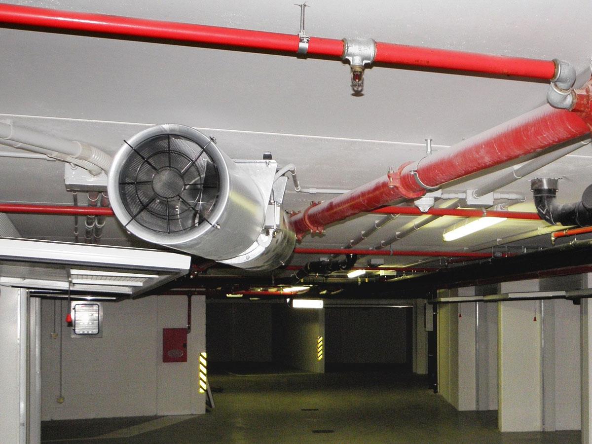 Противодымная вентиляция в зданиях организаций торговли